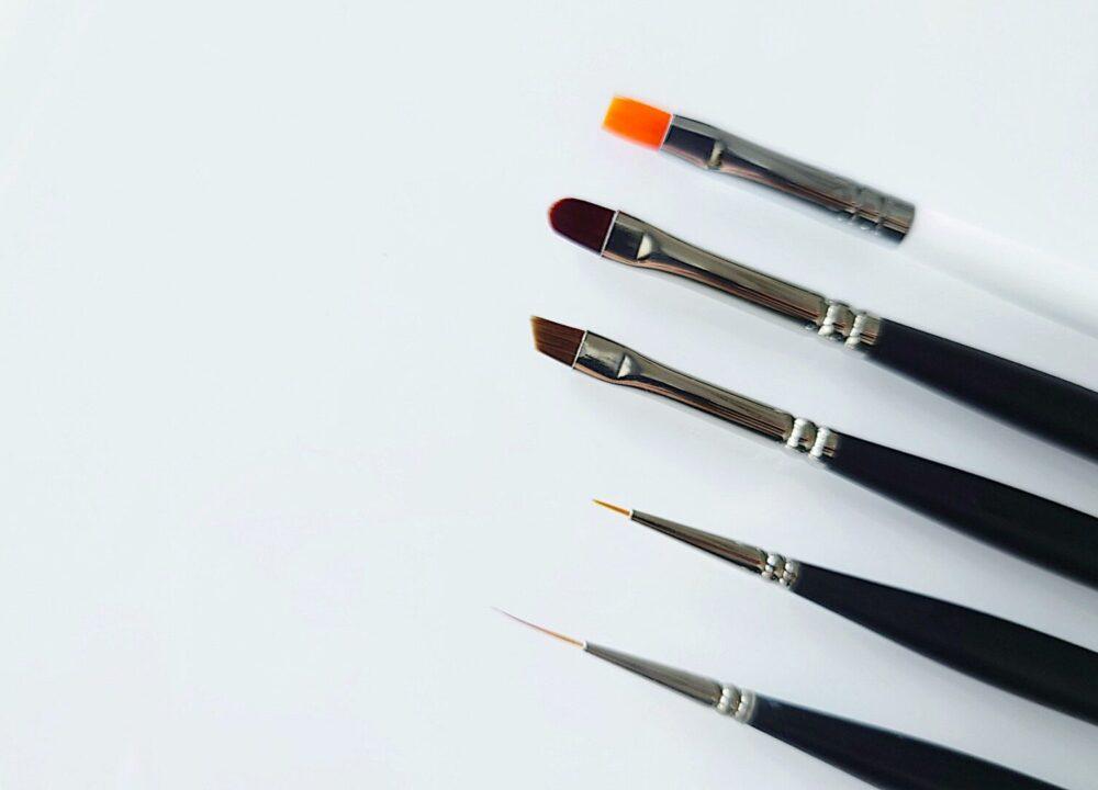 ジェルネイル筆の種類