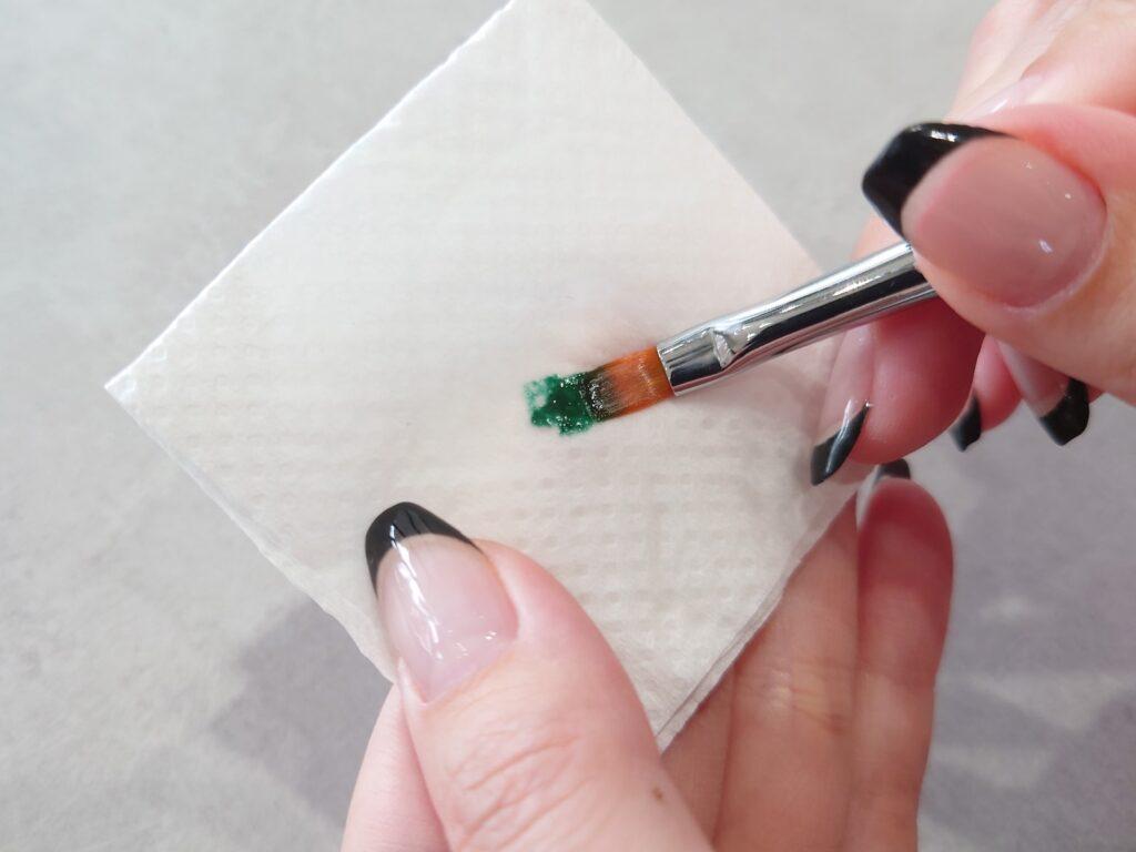 ジェルネイル筆のお手入れ方法
